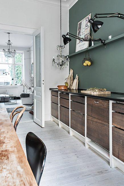 Rustieke keuken van eigenaresse van Aiayu uit Denemarken