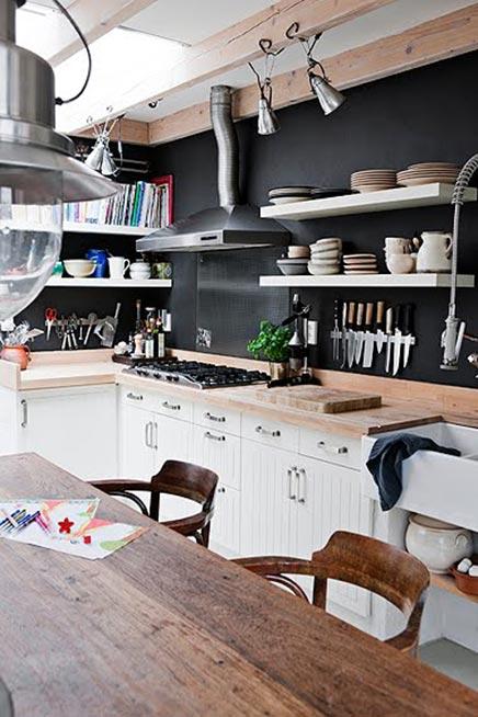 Rustieke keuken uit finland
