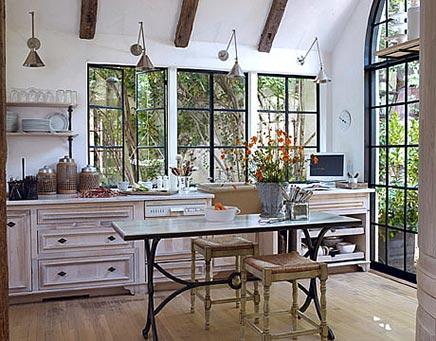 Rustieke keuken van ontwerpster Jill Sharp