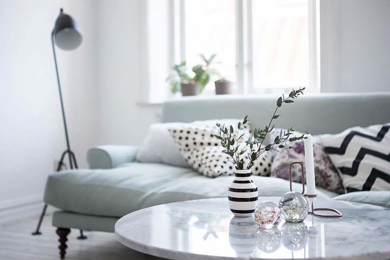 salontafel decoratie