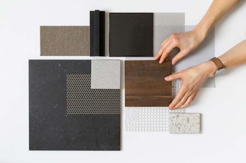 samenwonen moodboard materialen kleuren