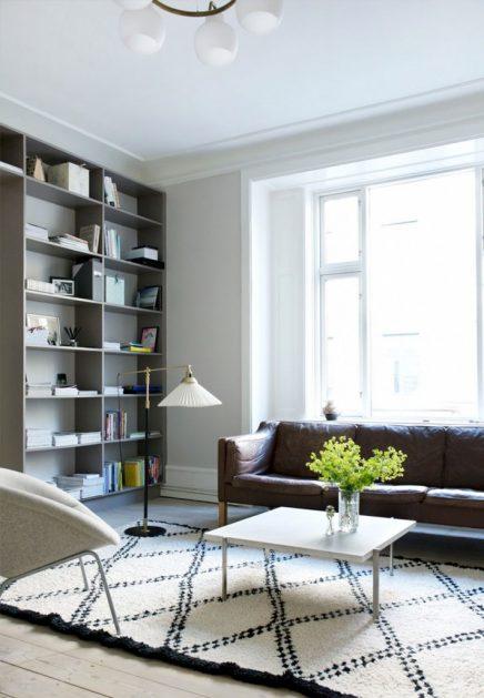 Scandinavisch appartement van een advocaat met passie voor interieur