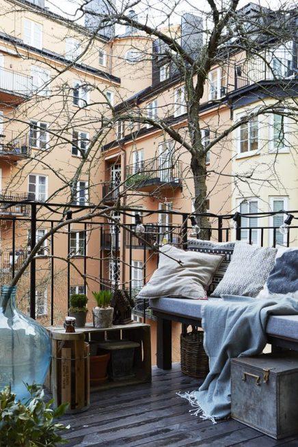 Scandinavisch balkon