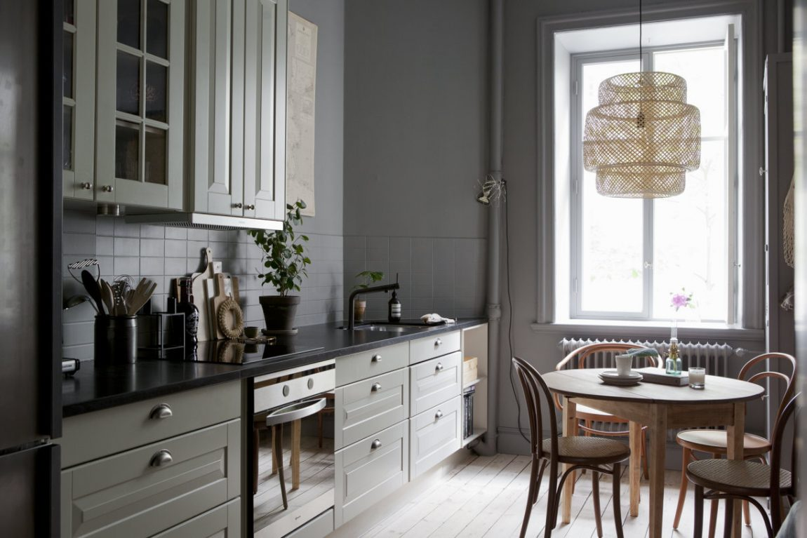 Scandinavisch slow living appartement