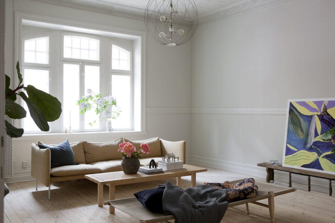 Scandinavisch slow living appartement
