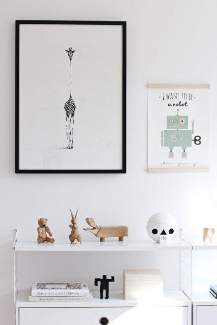 Scandinavische babykamer van Max