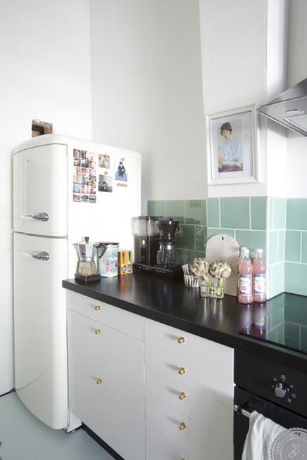 Scandinavische keuken met engelse invloeden inrichting - Scandinavische keuken ...