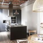 Scandinavische keuken met exotische invloeden