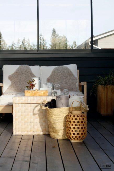 Scandinavische tuinserre