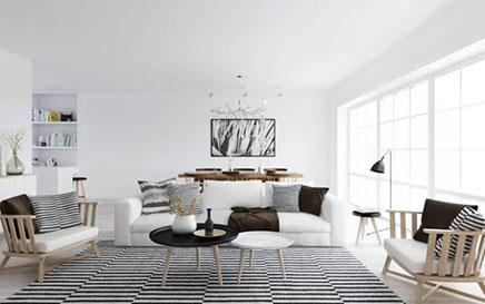 Scandinavische woonkamer | Inrichting-huis.com