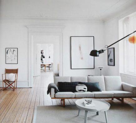 Scandinavische woonkamer van Tanja Vibe