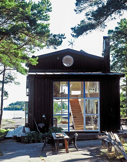 Schattig Zweeds huisje