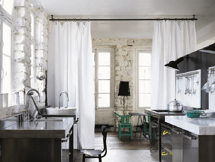 Scheidingswand Woonkamer Keuken : Scheidingswand gordijnen keuken gratis inspiratie opdoen