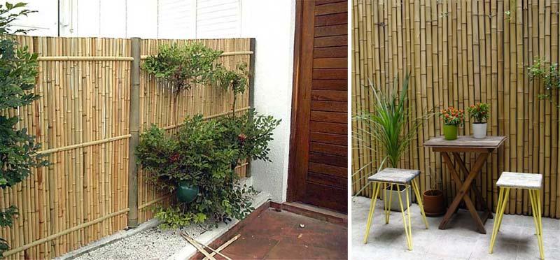 schutting ideeen bamboe