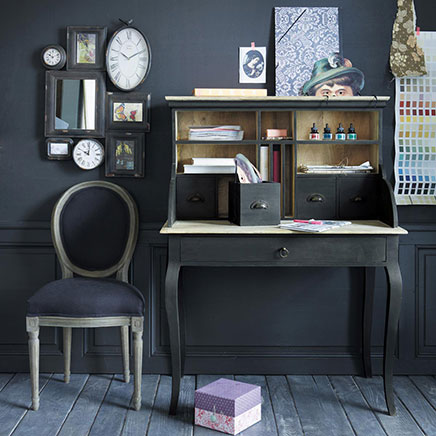 secretaire in huis inrichting. Black Bedroom Furniture Sets. Home Design Ideas