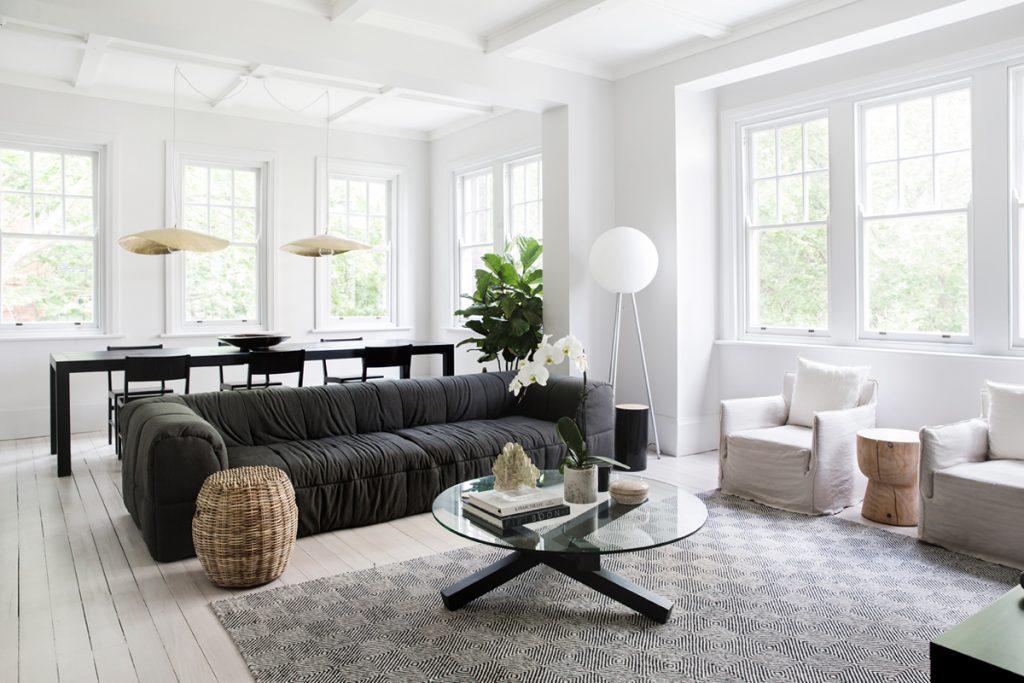 Sereen appartement met Scandinavische invloeden