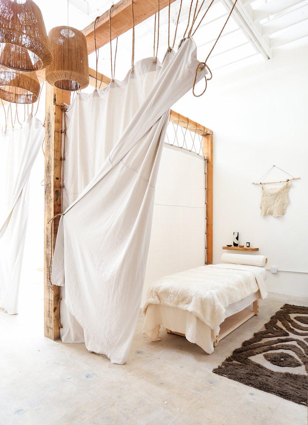Sereen bohemian Ibiza stijl massagesalon