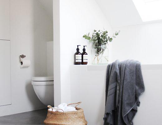 Serene badkamer van interieurontwerpster Elizabeth