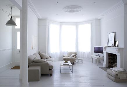 Interieur Klein Huis : El estudio heeft dit kleine appartement van m heel leuk