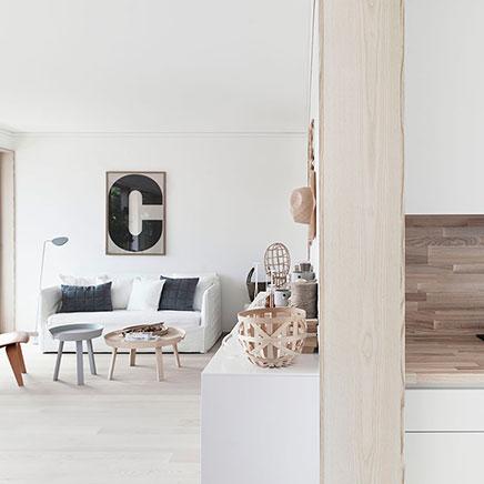 Serene interieur inrichting met mooie afwerking  Inrichting-huis.com