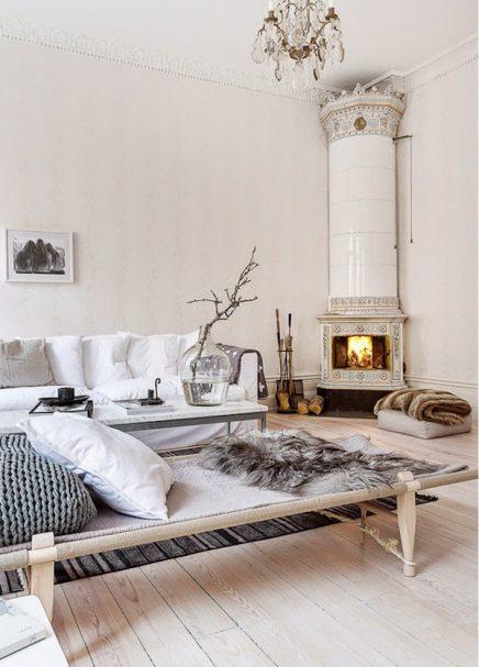 Serene woonkamer