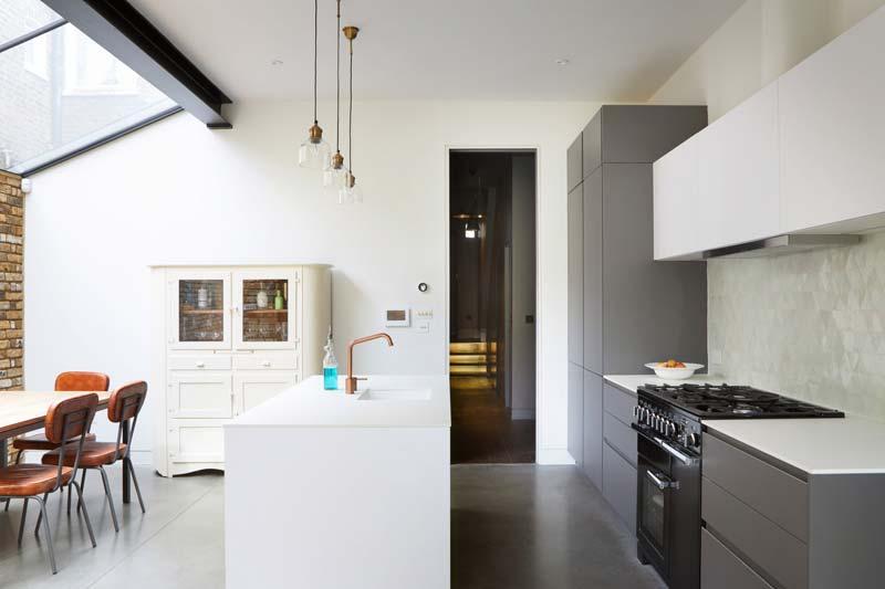 serre uitbouw woonkeuken