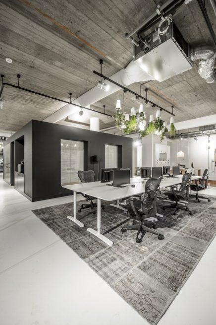 Sfeervol industrieel kantoor van decom inrichting - Ontwerp huis kantoor ...