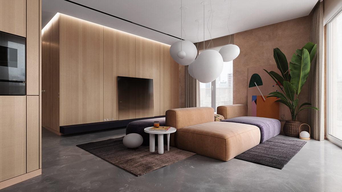 sfeervol verlichting woonkamer - ledstrip plafond