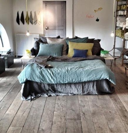 Sfeervolle doorleefde slaapkamer