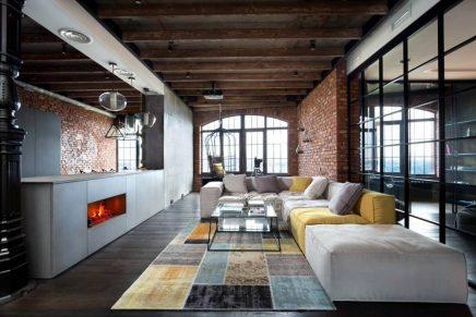 Industriele Slaapkamer Ideeen : Industriele slaapkamer ideeen luxe luxe industriële loft
