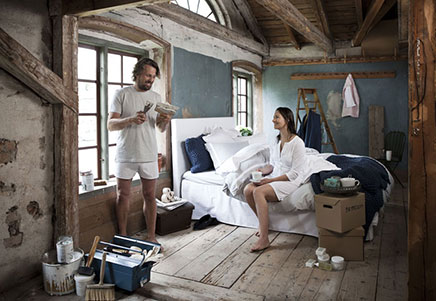 Sfeervolle slaapkamer van Mille Notti