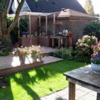 Sfeervolle tuin in Vaassen