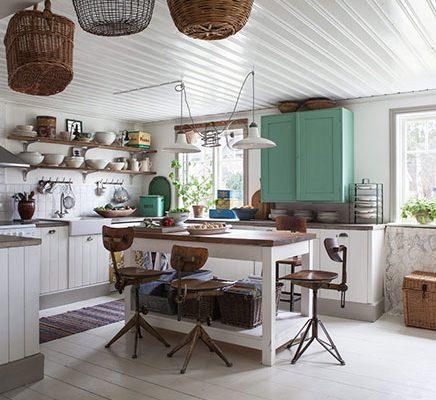 Shabby chique keuken