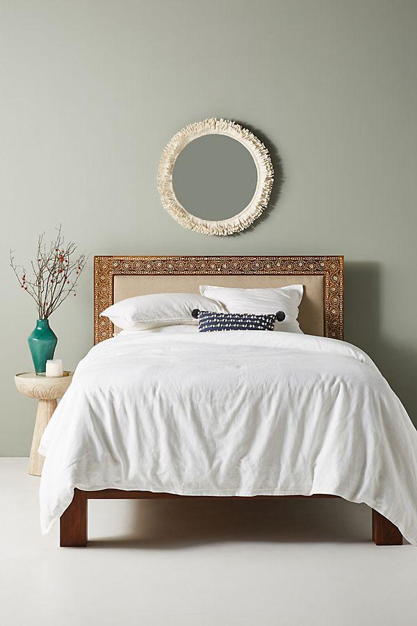 sheesham houten bed