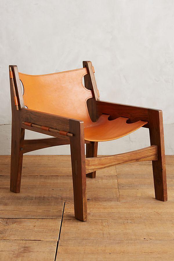 sheesham houten loungestoel