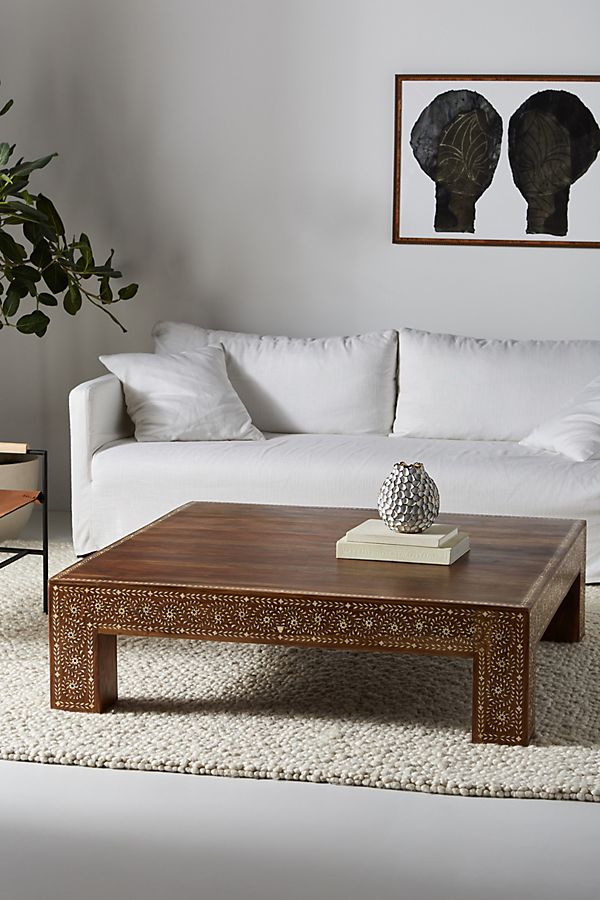 sheesham houten salontafel