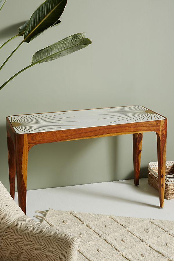 sheesham houten sidetable