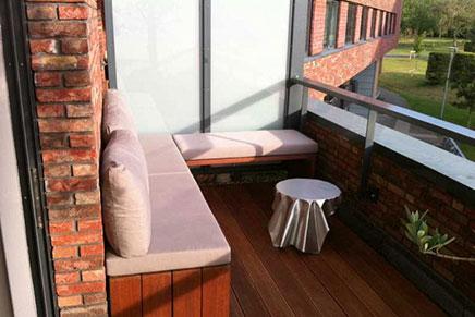 Simpel balkon ontwerp