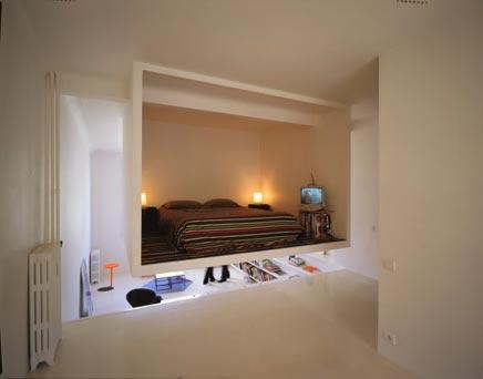 Simpel, maar ingewikkelde inrichting - slaapkamer