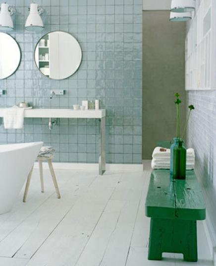 Simpel pure badkamer  Inrichting huis com