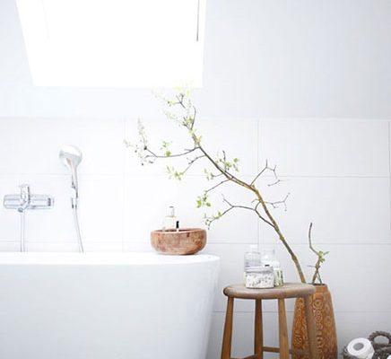 Simpele mooie badkamer