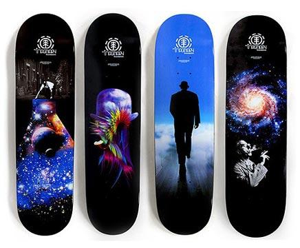 Skateboard decks voor de inrichting van je huis