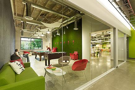 Skype hoofdkantoor in Palo Alto