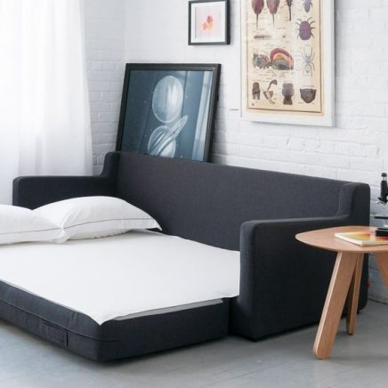 Slaapbank in slaapkamer