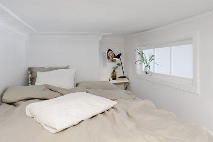 Slaapkamer van 6m2 met inloopkast inrichting - Inrichten van een kleine volwassene slaapkamer ...