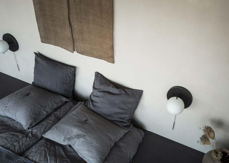 slaapkamer aardetinten