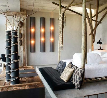 Slaapkamer van het Areias do Seixo hotel