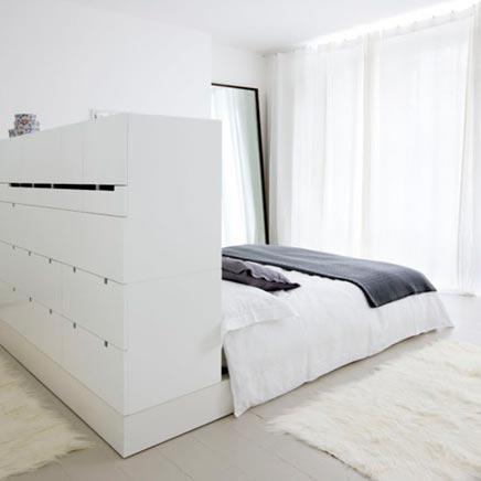 zimmer mit Bett als Anlaufstelle