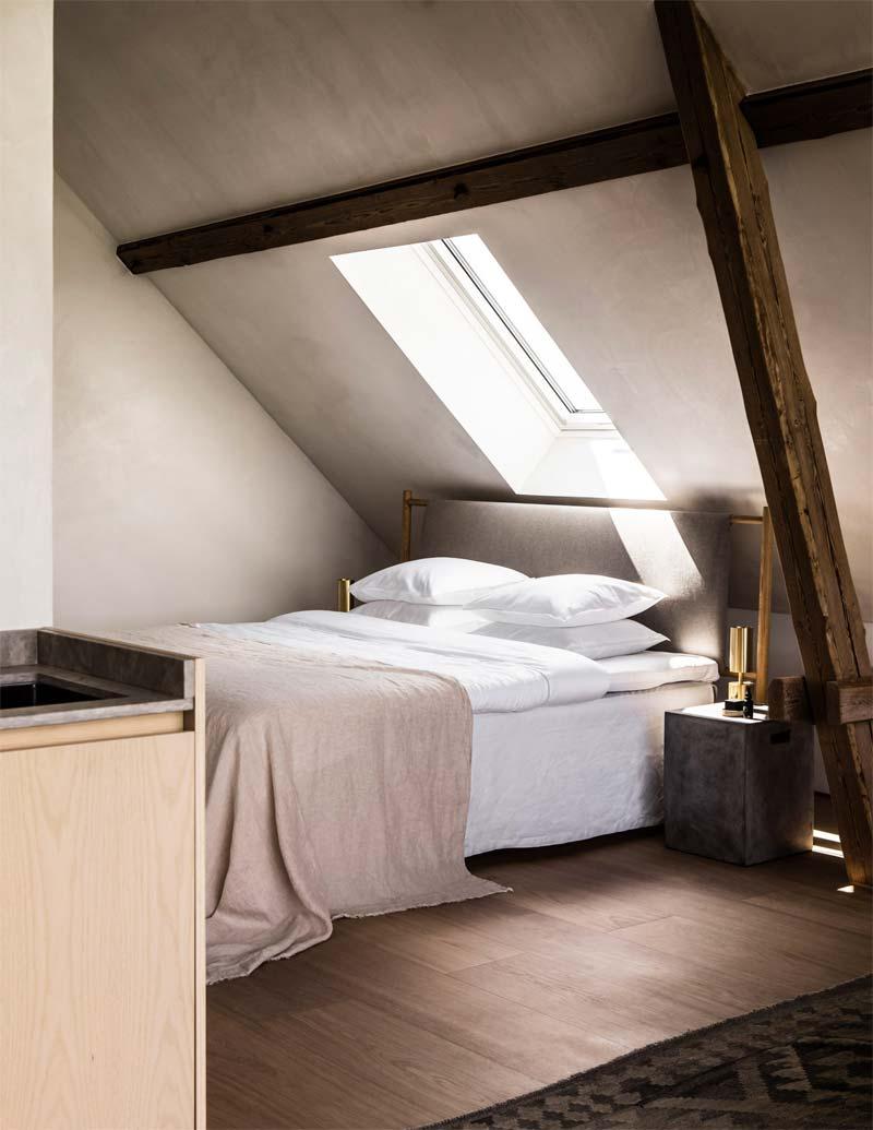 slaapkamer bed opmaken hotel