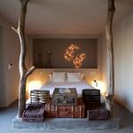 Slaapkamer met bijzondere details
